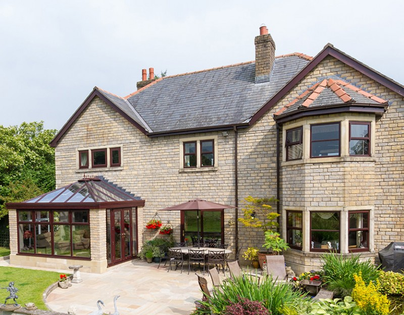 Croft fits record number of orangeries and conservatories