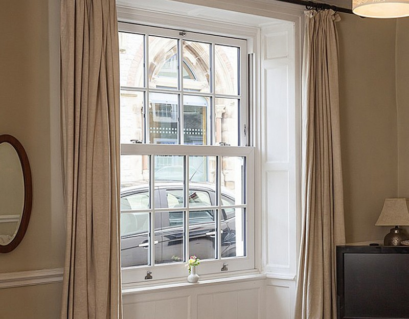 Croft installs luxury windows in town house property in Clitheroe, Lancashire