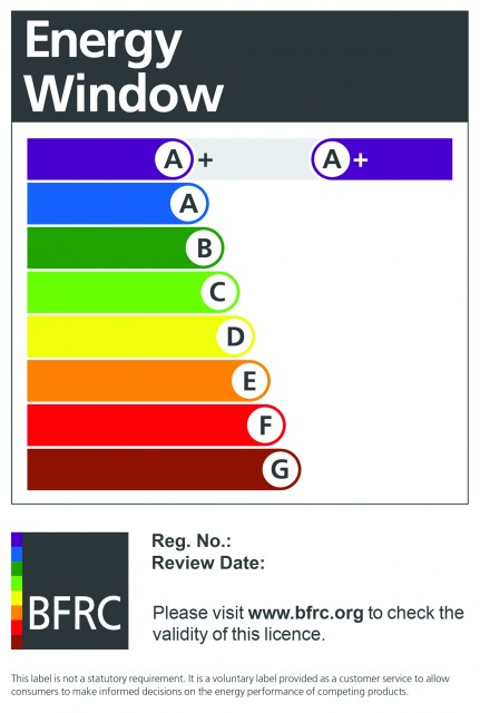 Croft of Preston Windows Receive A+ Energy Efficiency Rating